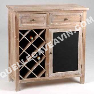 cave vin amadeus meuble range bouteilles 2 tiroirs 1 porte en pin l90xp. Black Bedroom Furniture Sets. Home Design Ideas