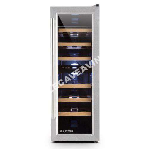 cave vin klarstein reserva duett 12 cave vin 65 litres. Black Bedroom Furniture Sets. Home Design Ideas