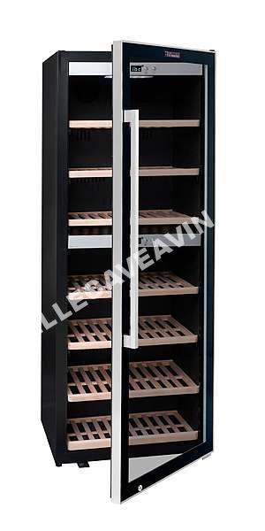 cave vin la sommeliere cave vin de vieillissement ecs135 2z 126 bouteille. Black Bedroom Furniture Sets. Home Design Ideas